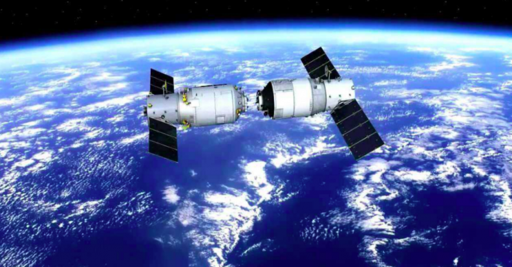 China's Space Station Tiangong-2 Will Come Falling Into the Ocean
