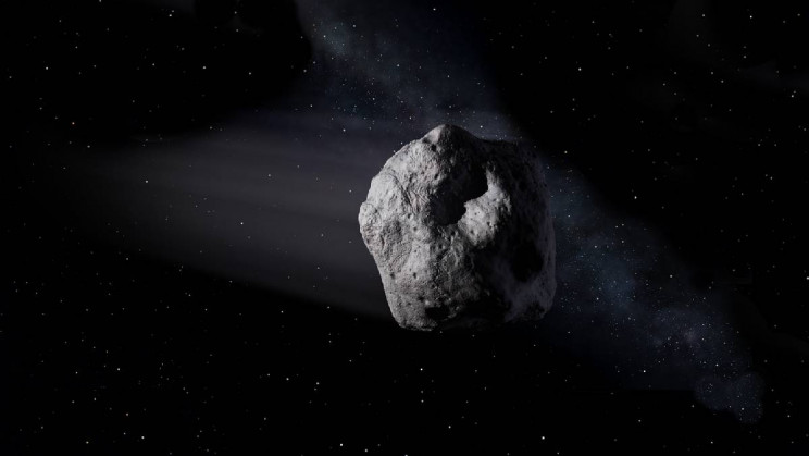 Artistic Representation of Asteroid