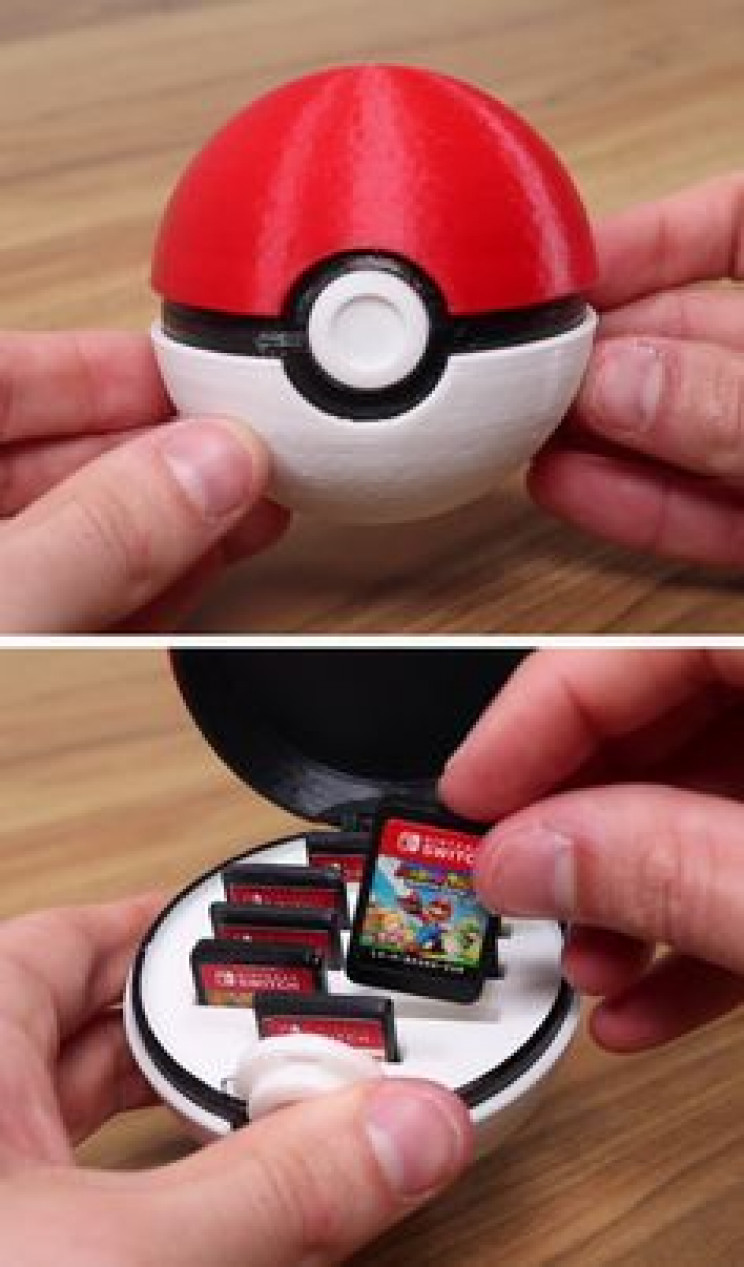 gamer diy pokeball switch
