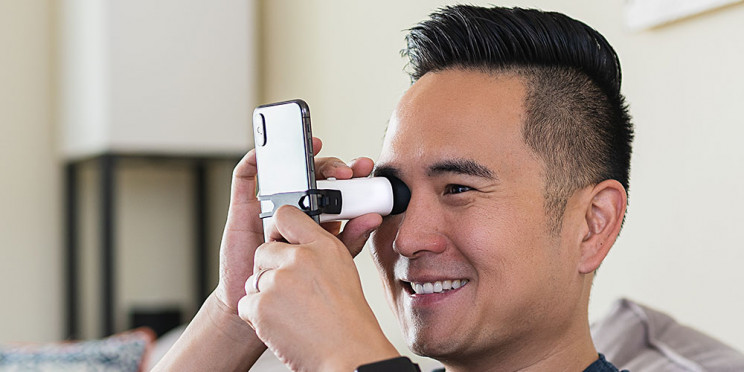 Monitor Your Eyesight at Home with This Automated Vision Tracker