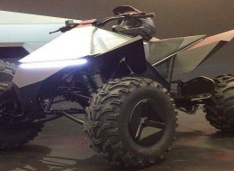 Tesla's Electric ATV Is Surprisingly Quiet In Newly-Released Footage
