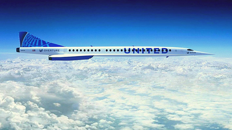 United Airlines Stakes $3 Billion in Boom Supersonic Jet Order