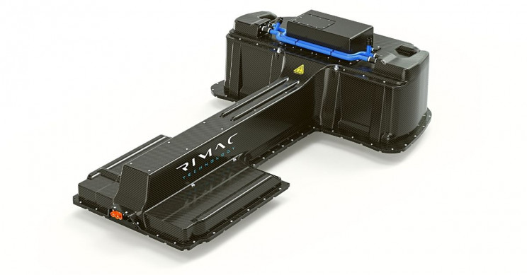 Rimac Traction Battery