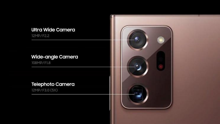 Samsung Galaxy Note Cameras