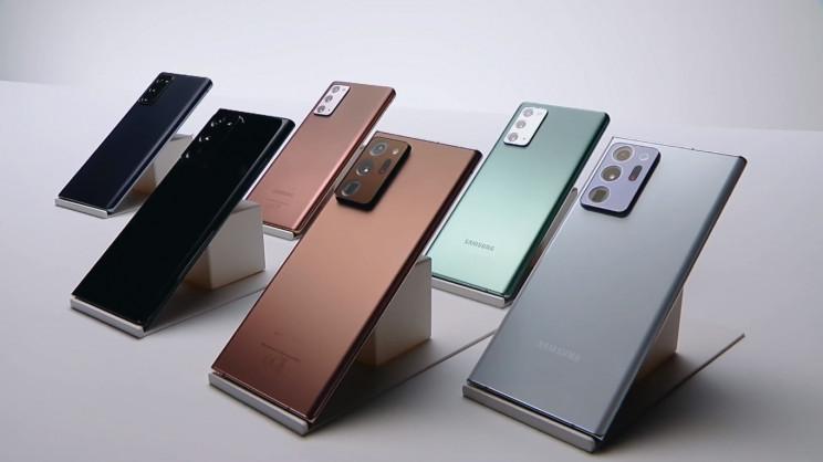 Samsung Galaxy Note Colors