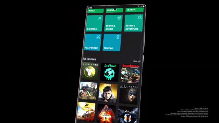 Samsung Galaxy Tab S7 Microsoft Xbox
