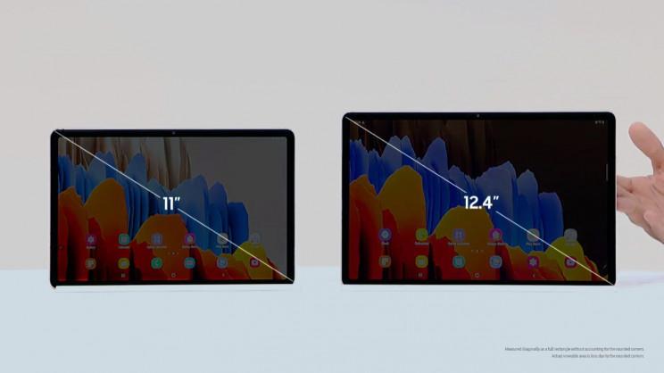 Samsung Galaxy Tab S7 Sizes