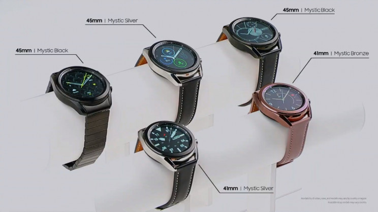 Samsung Galaxy Watch 3 Colors