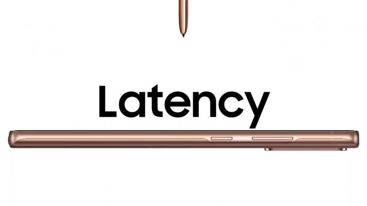 Samsung Note 20 S Pen Latency
