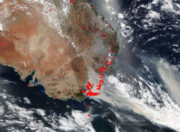 NASA: Australian Bushfire Smoke Now in the Stratosphere and Will Go around the Earth