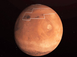 NASA Releases Treasure Map for Water Ice on Mars and There Is Water Just an Inch Beneath the Surface