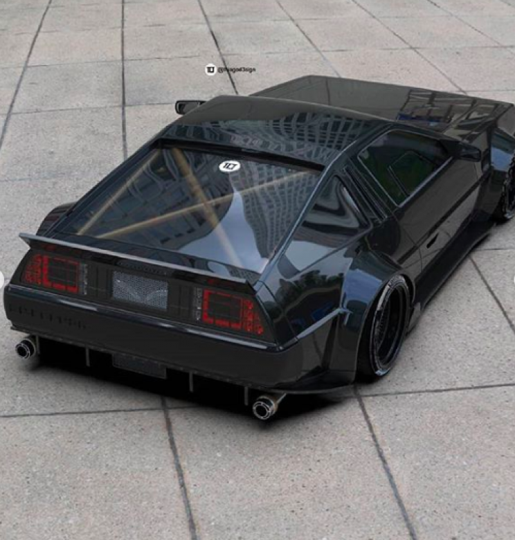 This DeLorean DMC-12 Design Is Everything You Wished For