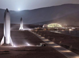 Elon Musk Claims One Million Humans Could Live on Mars in 50 Years