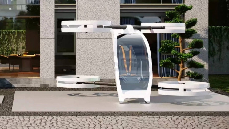 This One-Person eVTOL Could Soon Be Your Exclusive Mode of Transportation