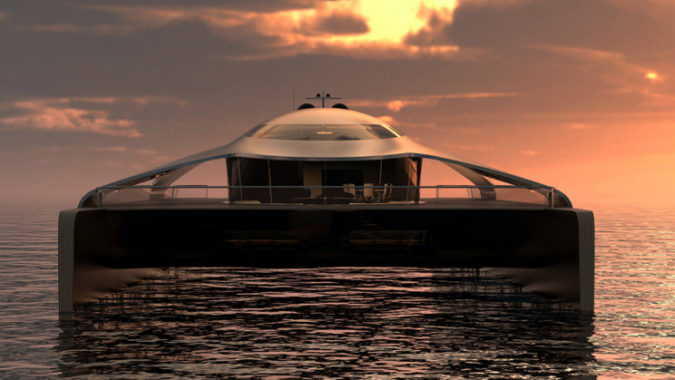 This 180-Foot Hydrogen-Powered Catamaran Makes Zero-Emission Travel a Reality