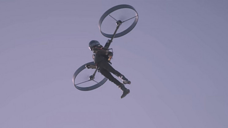 Electric Personal Flight Suit Startup Faked Their Test Flight Footage