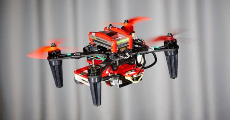 Researchers Keep Damaged Drones Flying With Onboard Cameras