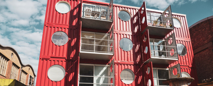 container buildings container city