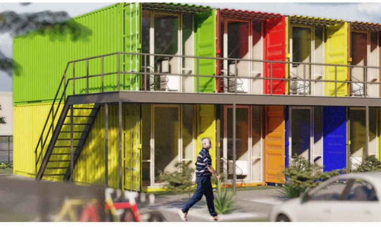 shipping container homes dallas