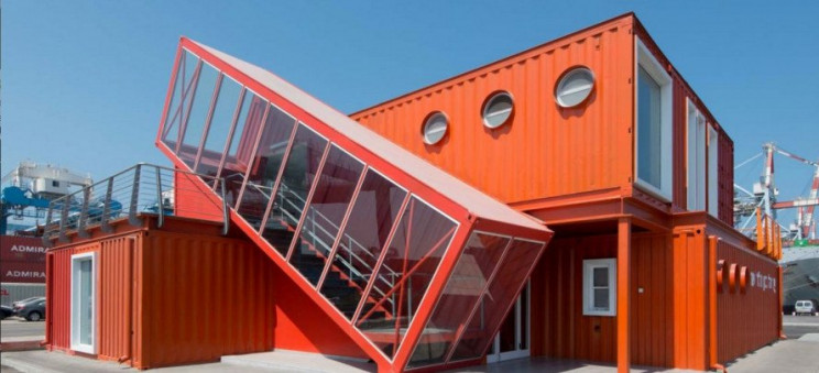 shipping container buildings israel