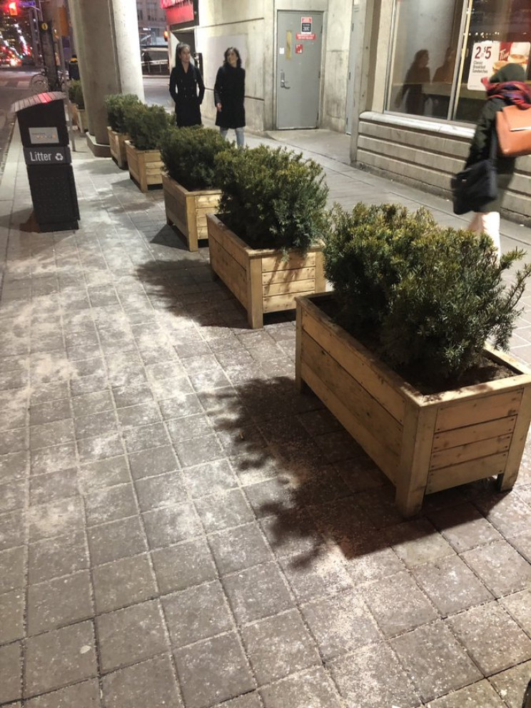 hostile architecture barred streets
