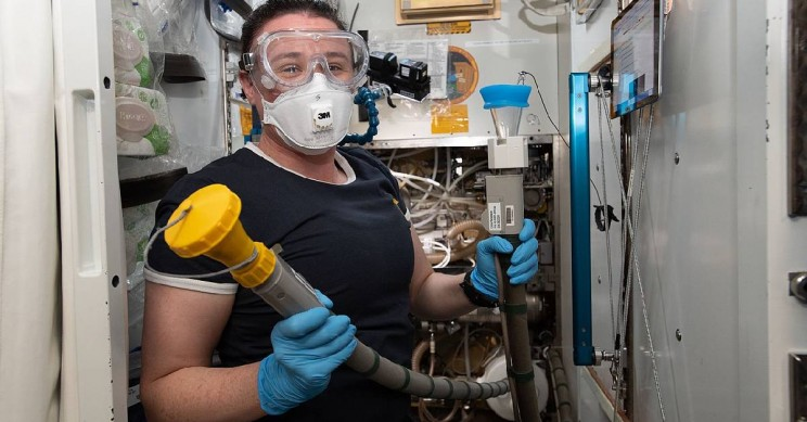 How Do Astronauts Stay Clean in Space?