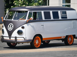 Volkswagen's 1962 Microbus Gets an Electric, Designer, and Slick Revamp
