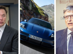 The Electric Porsche That Caused A Billionaire Beef Between Musk and Gates