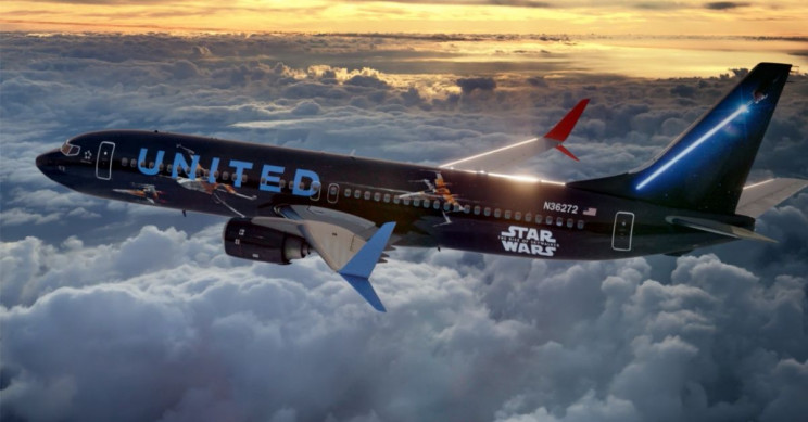 Gather up Fans, Star Wars Themed Airplanes Are Ready for Takeoff