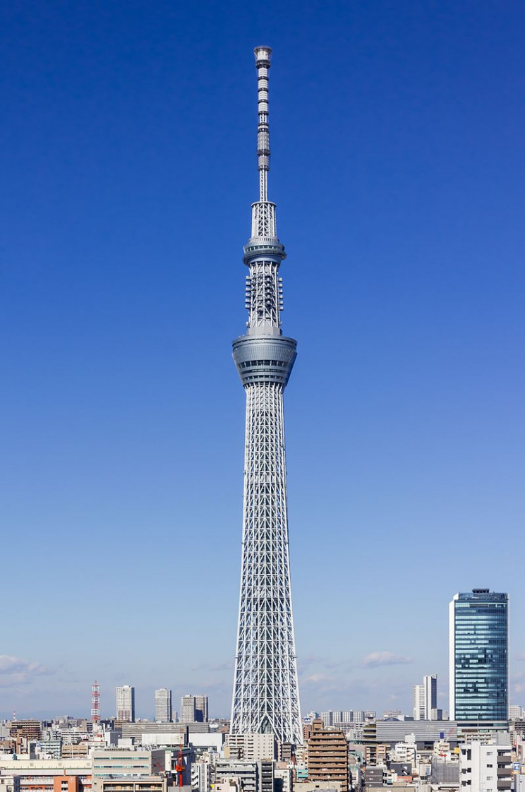 Tokyo tour guide Skytree