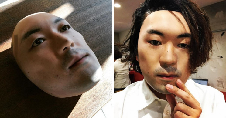 Japanese Designer 3D-Prints Faces onto Ultra-Realistic Masks