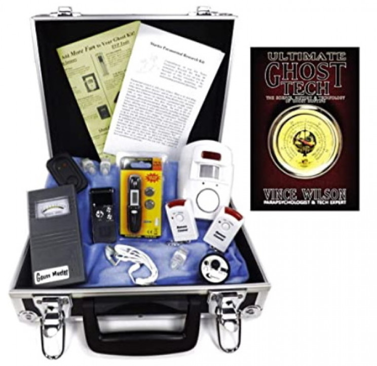 Complete ghost hunting kit