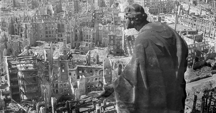 Dresden After Bombing
