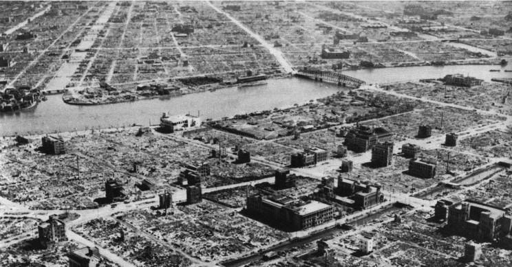 Tokyo After Firebombing
