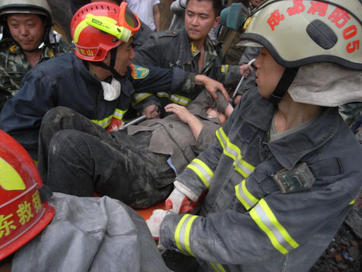 Dujiangyang, Sichuan earthquake in 2008