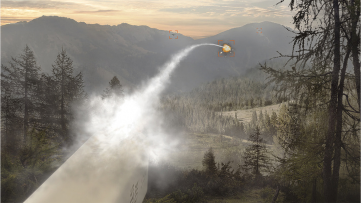 BAE Systems Repurposes Its Laser-Guided Rockets to Bring Down Drones