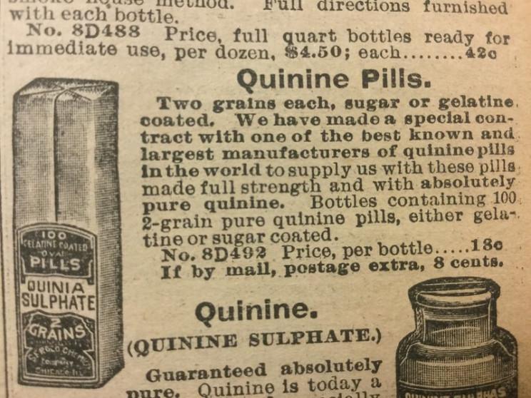 spanish flu quinine