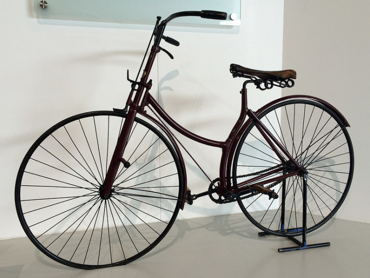 History of the bicycle Safety bicycle