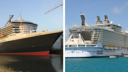 9 of the World's Biggest Ships Ever Built
