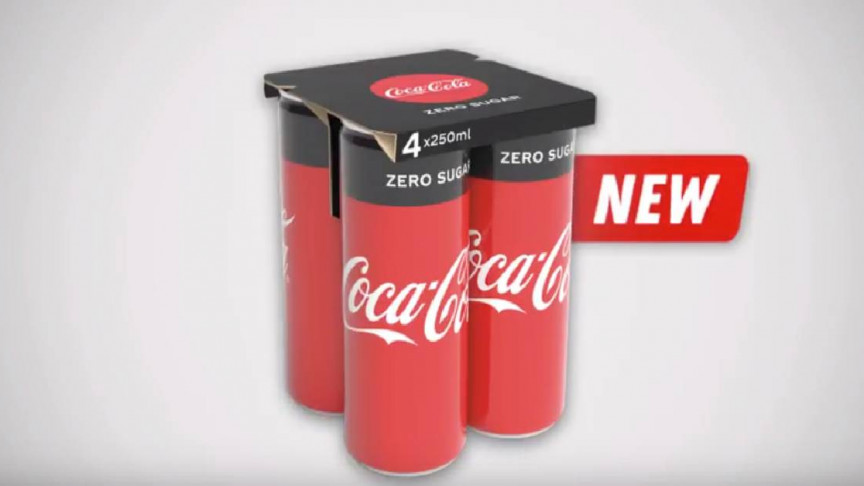 Coca-Cola Introduces Innovative Paper Board Technology to Replace Plastic Wrap