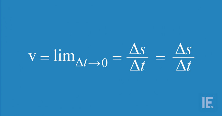 Instantaneous Speed Equation