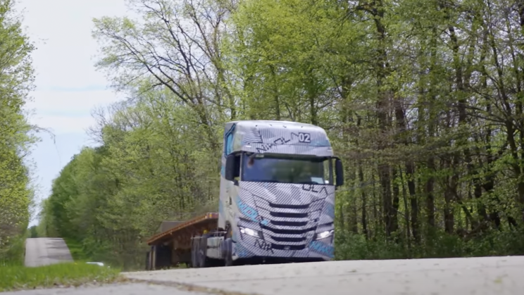 New Footage Shows Nikola Truck Going Uphill on Its Own Power
