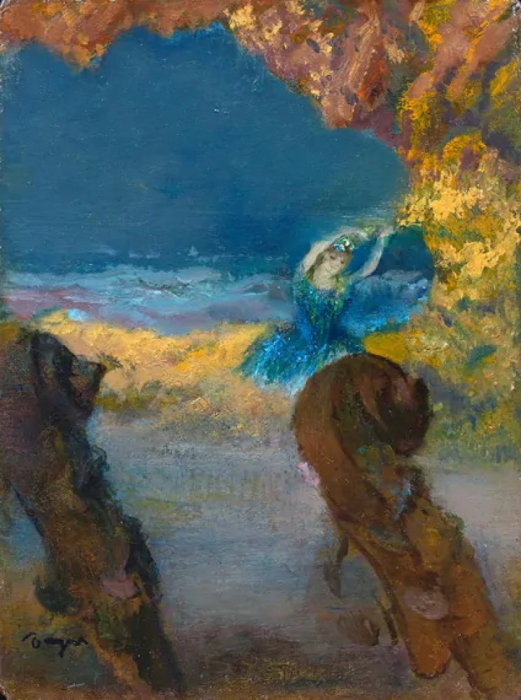 Edgar Degas painting