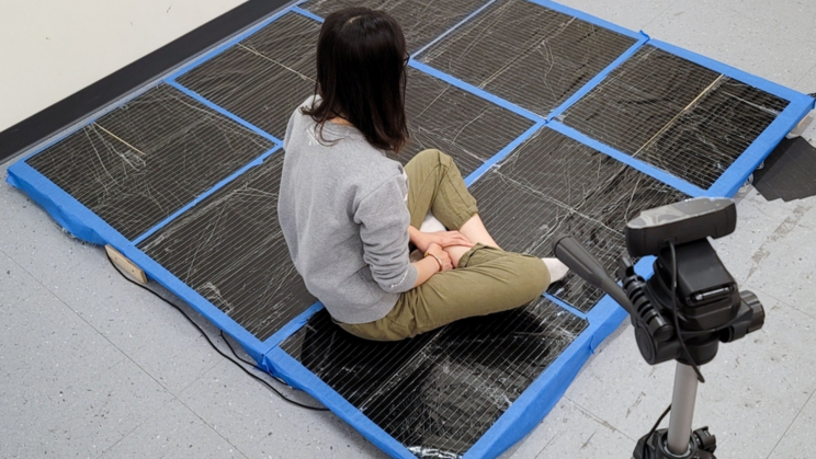 """MIT Made an """"Intelligent Carpet"""" That Can Monitor People Without Cameras"""