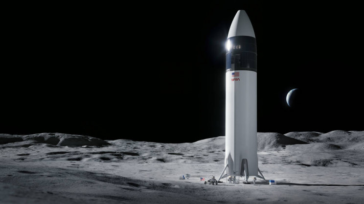 SpaceX Will Take the Next NASA Astronauts to the Moon