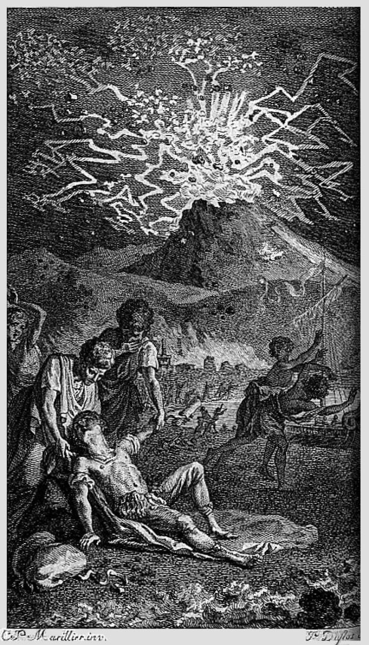 Death of Pliny the Elder