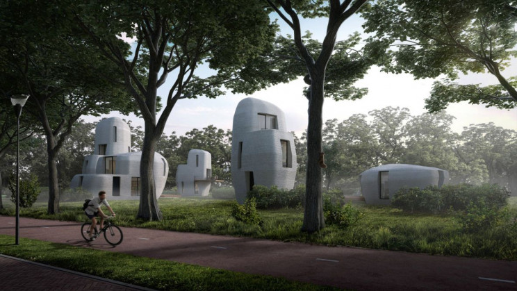 3d printed houses eindhoven