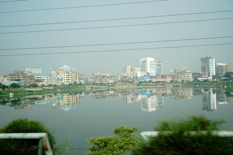 sinking cities dhaka