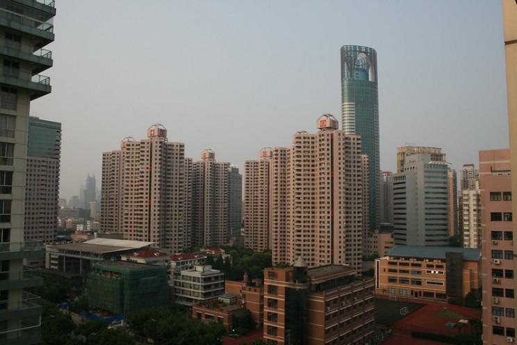 sinking cities shanghai