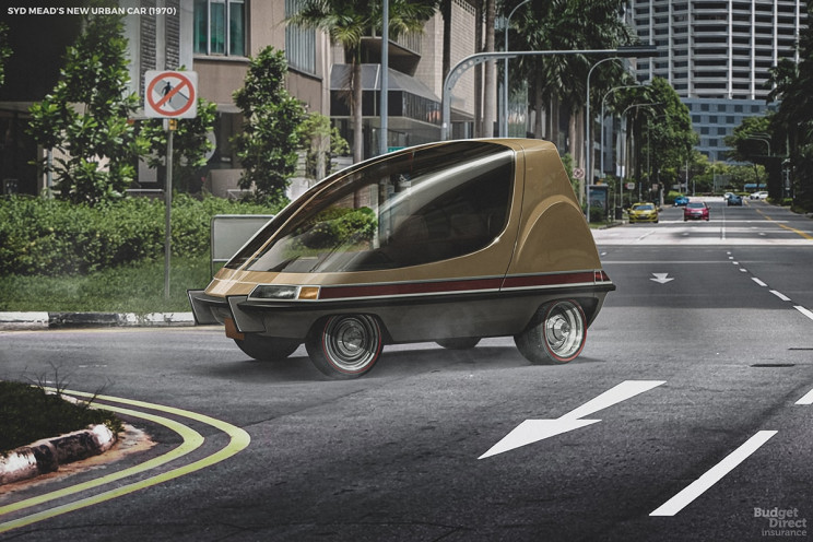 7 Futuristic Vehicle Concepts of the Past by Today's Designers